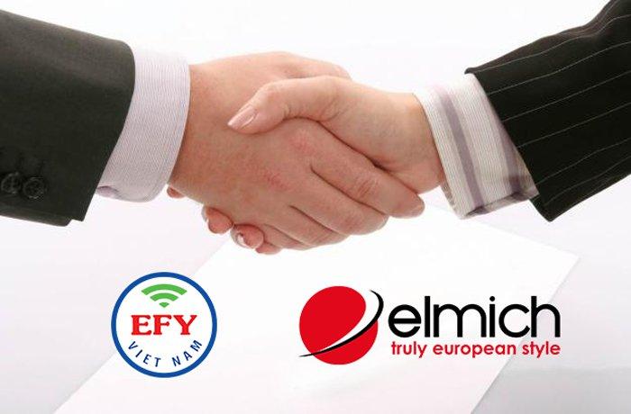 Hợp tác kinh doanh giữa EFY Việt Nam và Tập đoàn Elmich