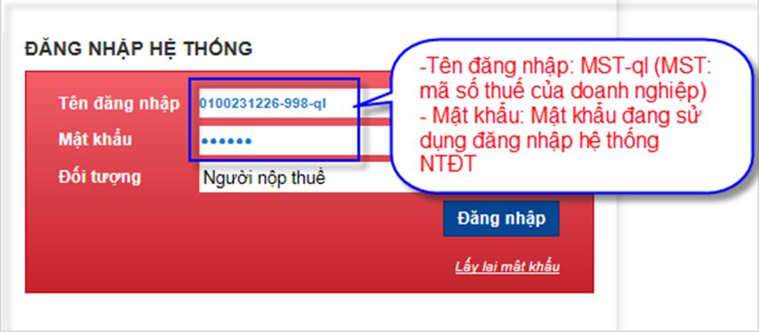 Nộp thông báo phát hành hóa đơn qua mạng